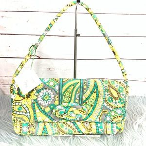 Vera Bradley Knot Just A Clutch lemon Parfait